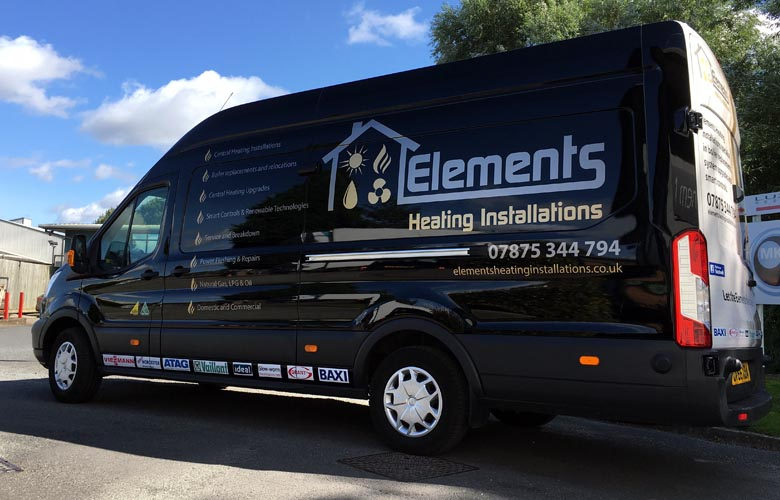 Vehicle graphics | livery | van decals | magnets - Anthem Signs ...